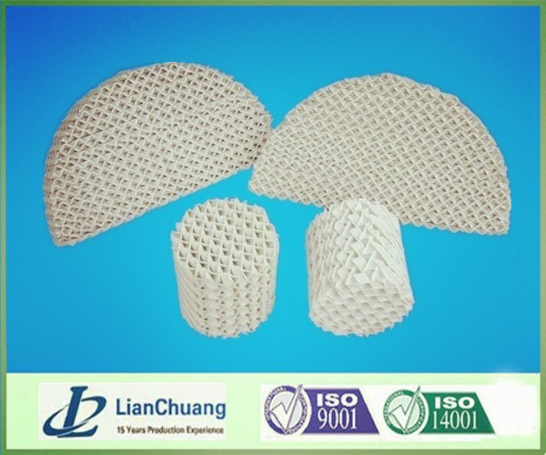 Corrugated Ceramic Structured Packings