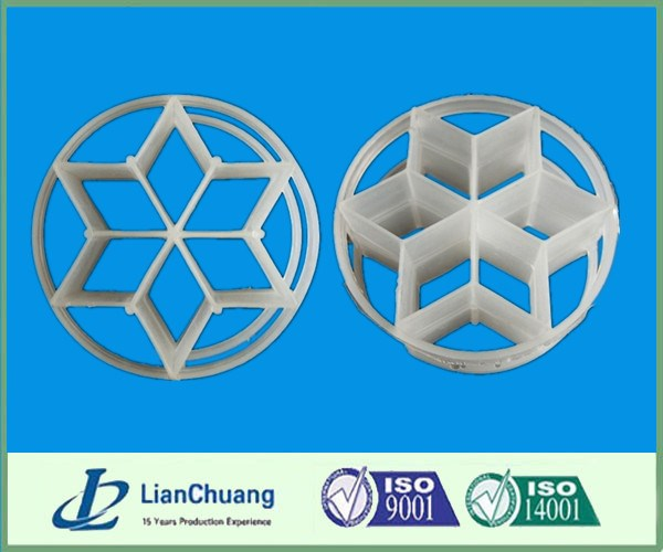 Plastic Six Lozenge Ring, Hexagonal Rings